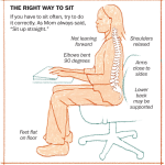 Posture When Seated